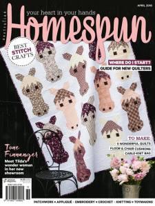 homespun magazine april 2018 issue