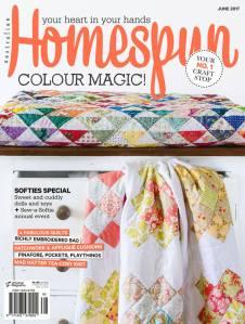 homespun magazine june 2017 issue